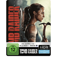 Tomb Raider - SteelBook [4K Ultra HD Blu-ray + Blu-ray]