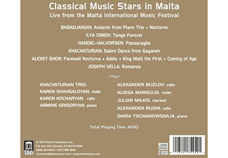 VARIOUS - Classical Music Stars in Malta  - (CD)