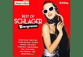 VARIOUS - Best Of Schlager Evergreens  - (CD)