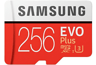 Tarjeta micro SDXC - Samsung MB-MC256GA Evo+, 256 GB, 95MB/s, Clase U3, Adaptador SD, 100 MB/s