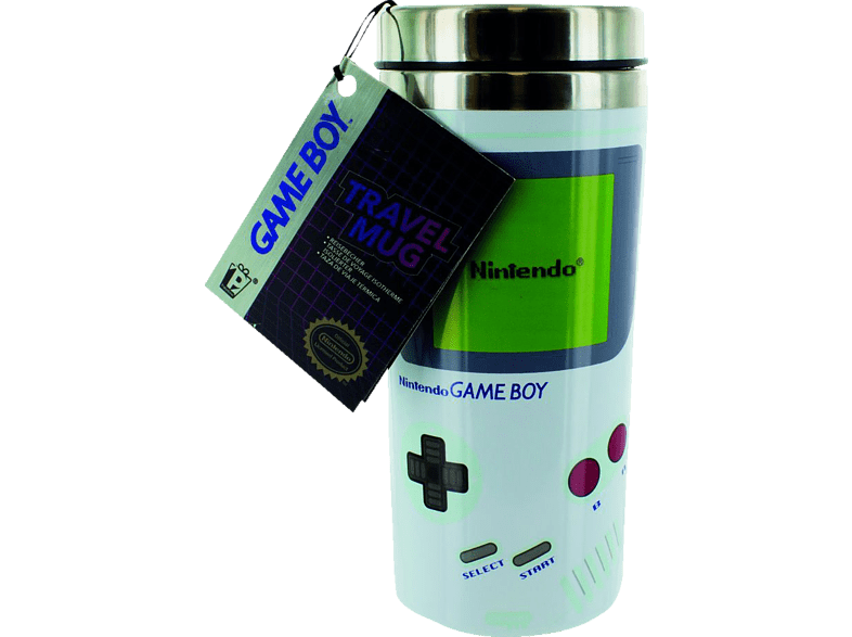 PALADONE PRODUCTS Gameboy Reisebecher 450ml Reisebecher, Mehrfarbig