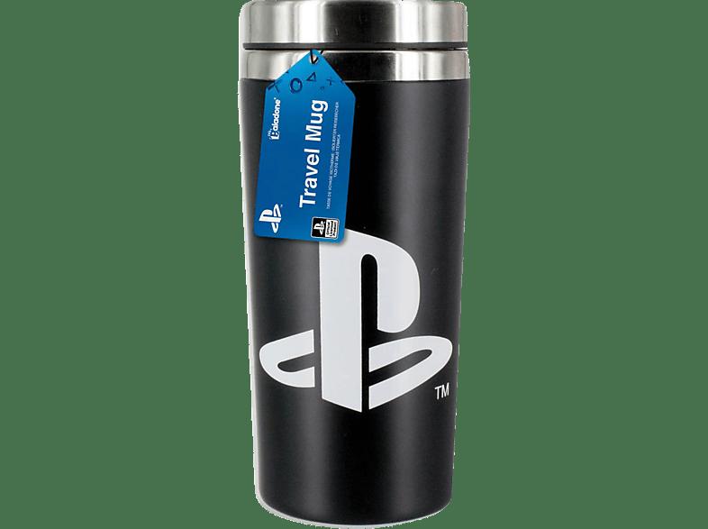PALADONE PRODUCTS Playstation Reisebecher 450ml Reisebecher, Schwarz