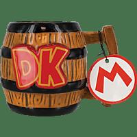 PALADONE PRODUCTS Donkey Kong 3D Becher 300ml Tasse, Mehrfarbig