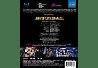 John Osborn, Mariangela Sicilia, Rotterdam Philharmonic Orchestra, Maurizio Muraro, Laurent Naouri, Michele Losier - Berlioz: Benvenuto Cellini  - (DVD)