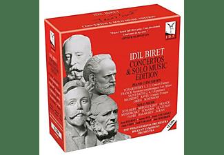 Idil Biret, Bilkent Symphony Orchestra, Philharmonic Orchestra - Concertos & Solo Music Edition  - (CD)