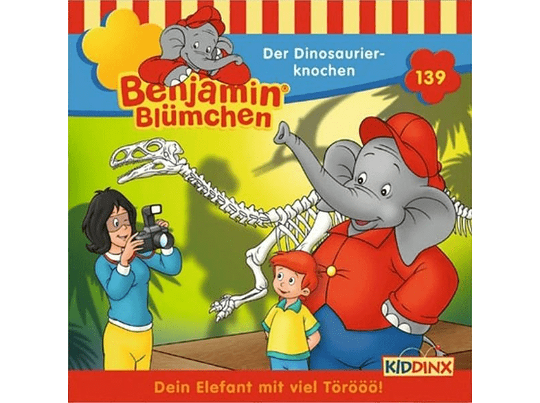 Benjamin Blümchen - Folge 139: Der Dinosaurierknochen - (CD)
