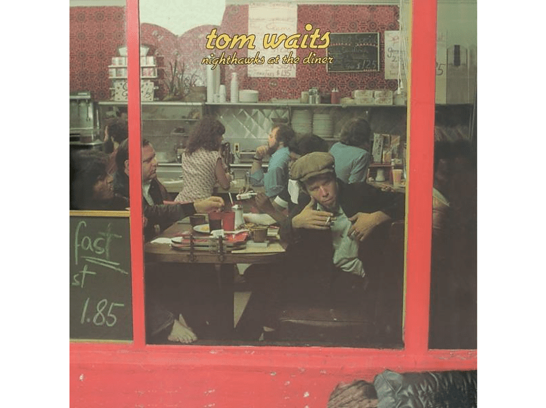 Tom Waits - Nighthawks At The Diner(Remastered)-Red Vinyl Edit [LP + Download]