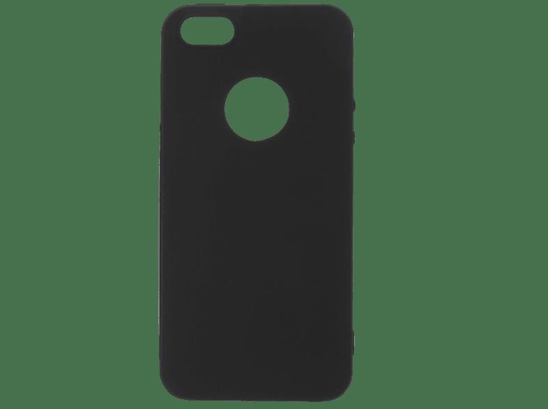 V-DESIGN VMT 015 , Backcover, Apple, iPhone 5, iPhone 5s, iPhone SE, Thermoplastisches Polyurethan, Schwarz