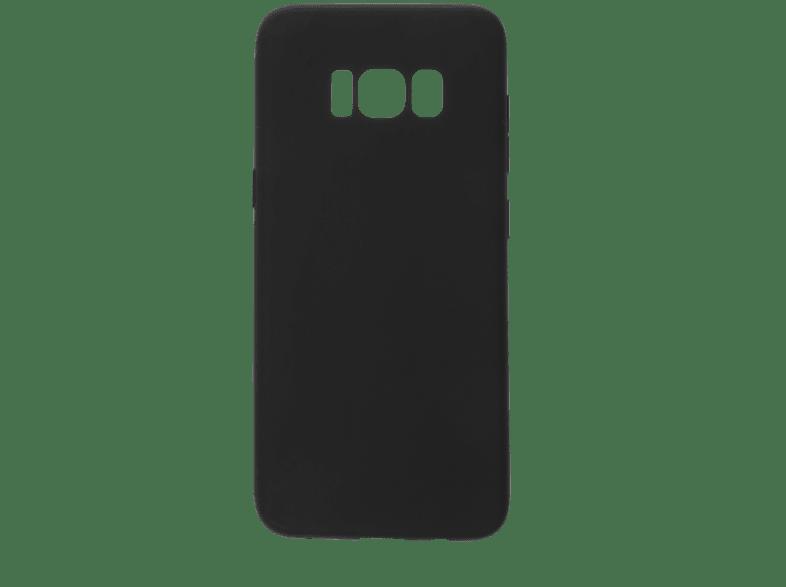 V-DESIGN VMT 134 , Backcover, Samsung, Galaxy S8, Thermoplastisches Polyurethan, Schwarz