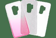 V-DESIGN VSP 032 , Backcover, Samsung, Galaxy S9+, Plastik + Thermoplastisches Polyurethan, Pink