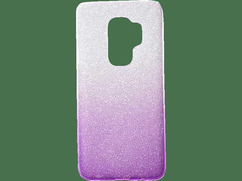 V-DESIGN VSP 033 , Backcover, Samsung, Galaxy S9+, Plastik + Thermoplastisches Polyurethan, Viollet
