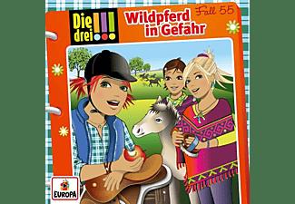 Die Drei ??? - 055/Wildpferd in Gefahr  - (CD)