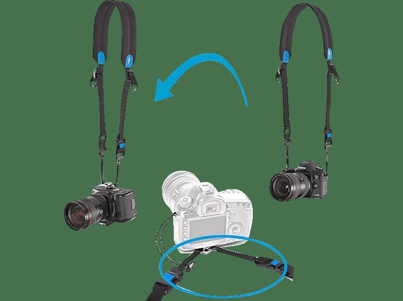 MYMIGGÖ Agua Strap Sling Connector  Kamerataschen , Schwarz