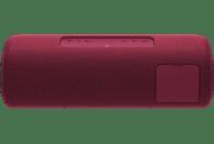SONY SRS-XB41 Bluetooth Lautsprecher, Rot, Wasserfest