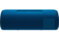 SONY SRS-XB41 Bluetooth Lautsprecher, Blau, Wasserfest