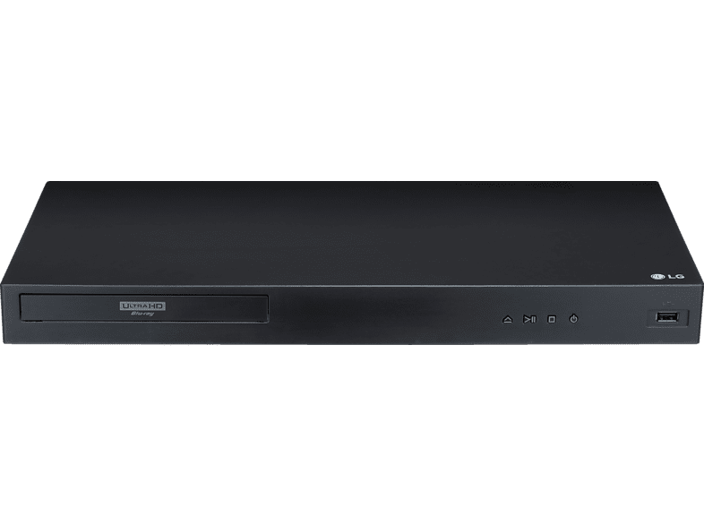 LG UBK80 Ultra HD Blu-ray Player (Schwarz)