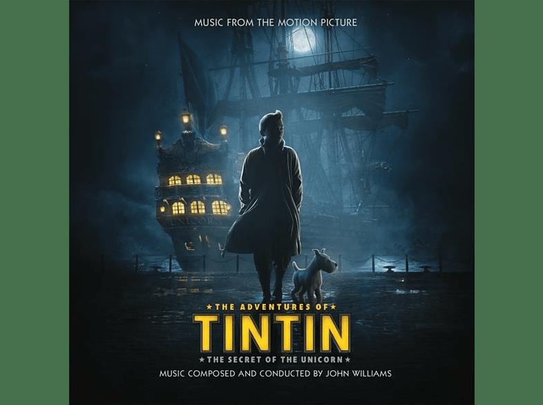 OST/VARIOUS - The Adventures Of Tintin: The Secret Of The Unicorn (Ltd. Blue Vinyl LP) [Vinyl]
