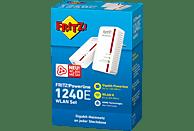 Powerline Adapter AVM FRITZ!Powerline 1240E WLAN Set 1200 Mbit/s Kabellos und Kabelgebunden