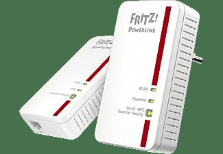 AVM FRITZ!Powerline 1240E WLAN Set Powerline Adapter 1200 Mbit/s Kabellos und Kabelgebunden