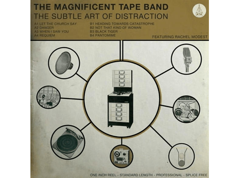 The Magnificent Tape Band - The Subtle Art Of Distraction [CD]