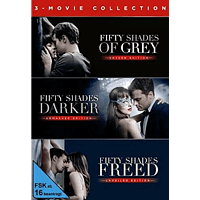 Fifty Shades of Grey - 3-Movie Collection [DVD]