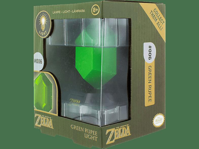 PALADONE PRODUCTS Zelda Grüner Rupien 3D Leuchte Leuchte, Grün