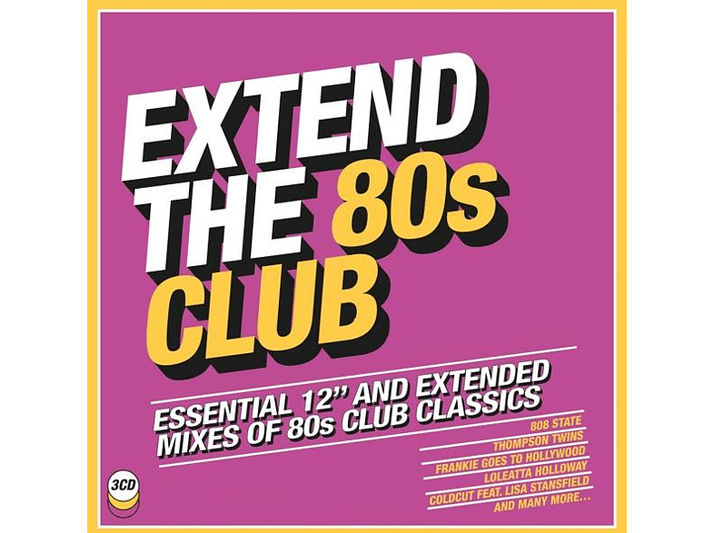 VARIOUS - Extend the 80s-Club [CD]