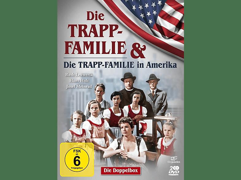 Die Trapp-Familie & Die Trapp Familie in Amerika [DVD]