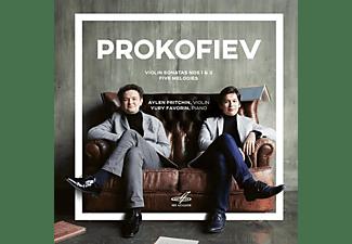 Aylen Pritchin, Yuri Favorin - Prokofiev: Violin Sonatas Nos 1 & 2 / Five Melodies  - (CD)