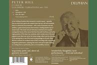 Peter Hill - Goldberg-Variationen [CD]