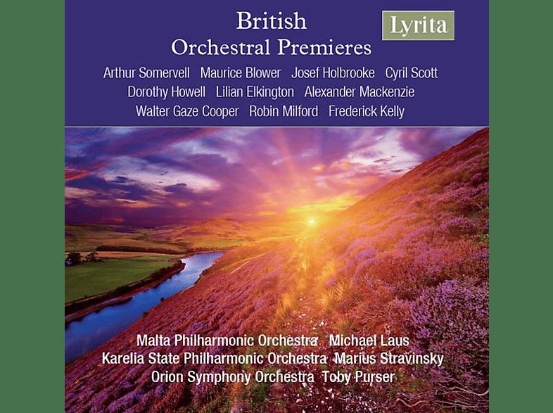 Malta PO/Karelia State PO/Orion SO - British Orchestral Premieres [CD]