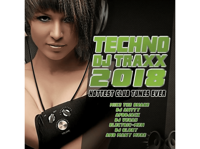 VARIOUS - Techno DJ Traxx 2018-Hottest Club Tunes Ever [CD]