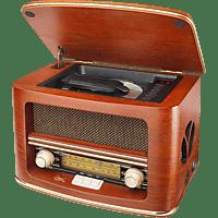 DUAL NR 1 CD Nostalgie CD-Radio Braun