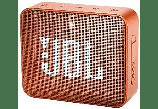 Altavoz inalámbrico - JBL GO 2 Orange, 3 W, Bluetooth, IPX7, Micrófono, Naranja