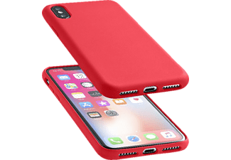 CELLULAR LINE Backcover Sensation für Apple iPhone Xs, iPhone X, rot