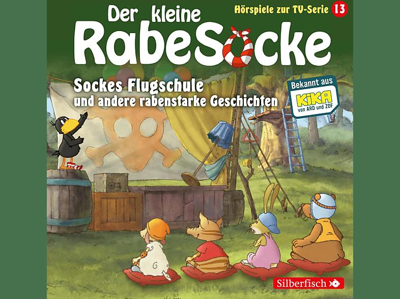 DER KLEINE RABE SOCKE (KINDERPROGRAMM) - Der kleine Rabe Socke: Sockes Flugschule und andere rabenstarke Geschichten (13) - (CD)