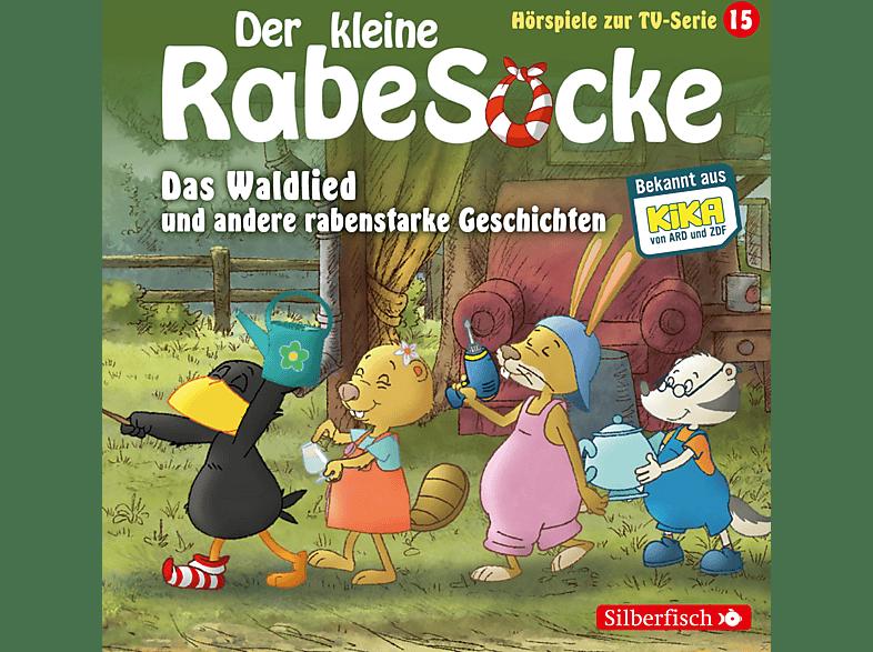 DER KLEINE RABE SOCKE (KINDERPROGRAMM) - Der kleine Rabe Socke: Das Waldlied und andere rabenstarke Geschichten (15) - (CD)