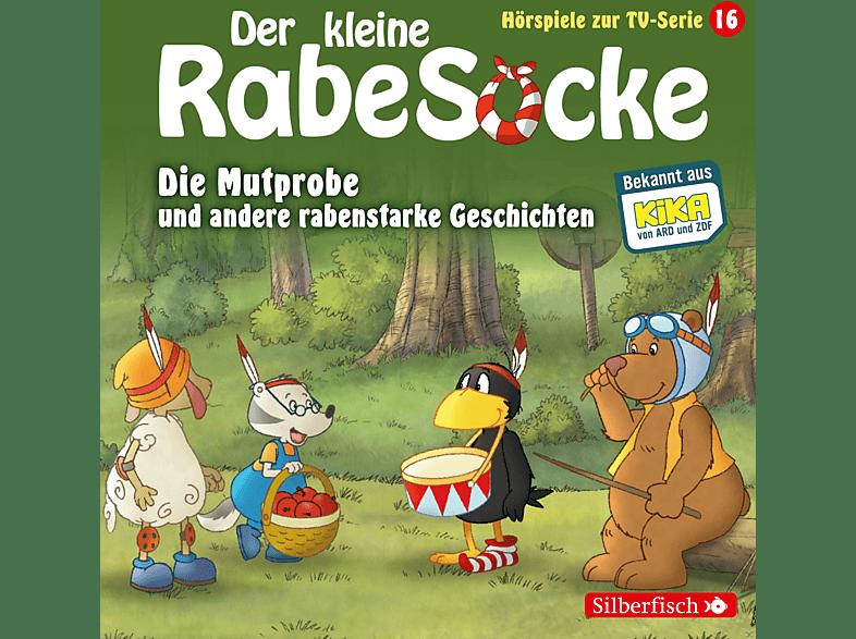 DER KLEINE RABE SOCKE (KINDERPROGRAMM) - Der kleine Rabe Socke: Die Mutprobe und andere rabenstarke Geschichten (16) - (CD)