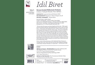 Idil Biret, Borusan Istanbul Philharmonic Orchestra - Idil Biret - 75th Anniversary Concert  - (DVD)