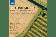 Callus,Helen/Taddei,Marc/New Zealand SO/+ - Britische Musik für Viola und Orchester [CD]