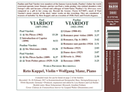 Kuppel,Reto/Manz,Wolfgang - Werke für Violine und Klavier [CD]