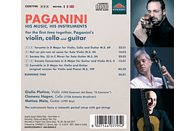 Plotino,Giulio/Hagen,Clemens/Mela,Matteo - Paganini: His Music,his Instruments [CD]