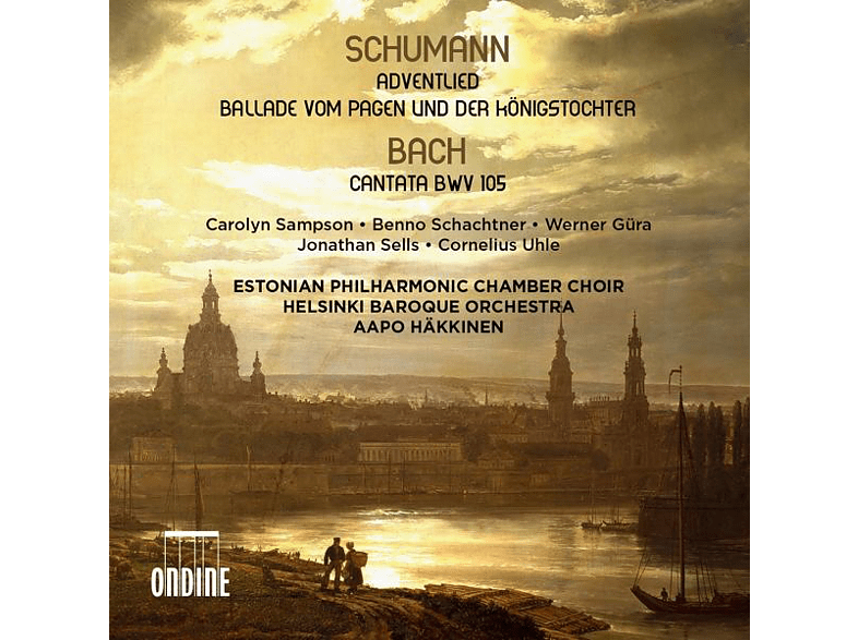 Aapo Häkkinen - Adventlied/Cantata BWV 105/+ [CD]