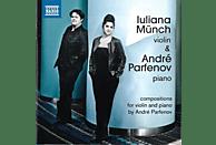 Münch,Iuliana/Parfenov,André - The Piano Legend of the Violin [CD]