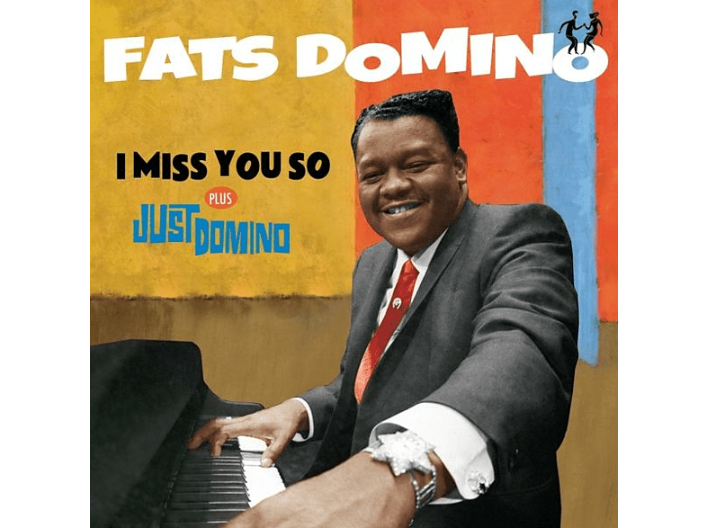 Fats Domino - I Miss You So+Just Domino+6 Bonus Tracks [CD]