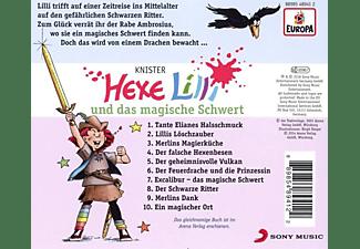 Hexe Lilli - 009/und das magische Schwert  - (CD)