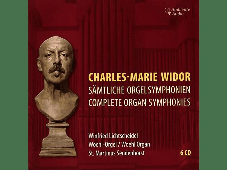 Winfried Lichtscheidel - Sämtliche Orgelsymphonien [CD]
