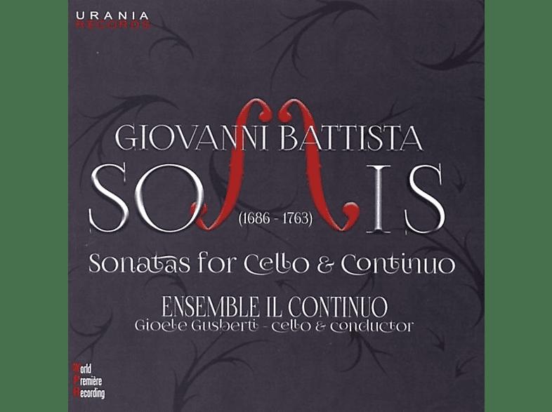 Ensemble Il Continuo - XII Sonate a Violoncello [CD]