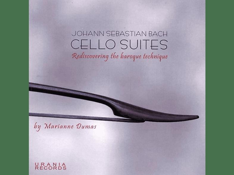 Marianne Dumas - Die sechs Suiten für Cello solo [CD]