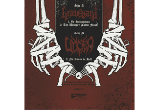 Graveyard, Ulcer - Split LP: Of Ancient Metal And Eternal Death (Vinyl LP)  - (EP (analog))